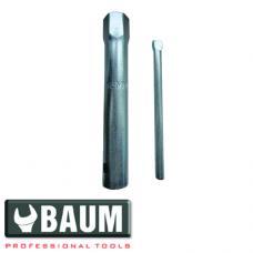 Ключ свечной трубчатый 16 мм (BAUM 191-16)
