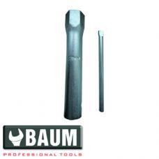 Ключ свечной трубчатый 21 мм (BAUM 191-21)