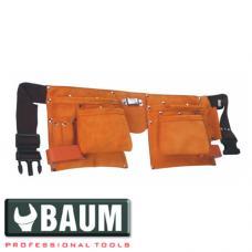 Сумка поясная для инструмента,10 карманов (BAUM 405)