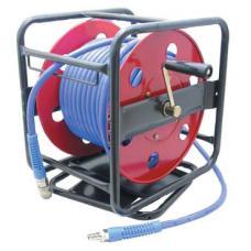 Пневмошланг в катушке с ручным механизмом d=6.5x10 мм, L=30 м (Sumake HR021030BR)