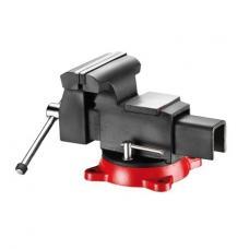 Тиски стальные поворотные 100 мм (FORCE 6540204A)