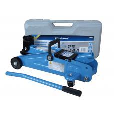 Домкрат подкатной 2 т (Н=125-300 мм) в пластиковом кейсе (UNITRAUM UN820014S)