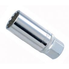 """1/2"""" Головка свечная магнитная 14 мм, L=70 мм (FORCE 807414M)"""