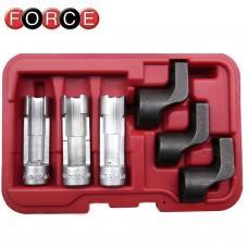 Набор головок для датчиков температуры выхлопных газов 6 пр. (FORCE 906G11)