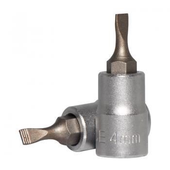 "1/4"" Головка-бита шлицевая (SL) 4 мм, L=32 мм (FORCE 3233204)"