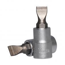 "1/4"" Головка-бита шлицевая (SL) 7 мм, L=32 мм (FORCE 3233207)"