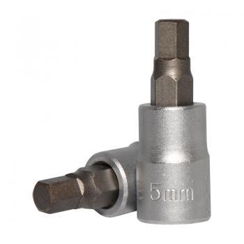 """1/4"""" Головка-бита шестигранная (HEX) 5 мм, L=32 мм (FORCE 3243205)"""