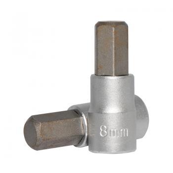 """1/4"""" Головка-бита шестигранная (HEX) 8 мм, L=32 мм (FORCE 3243208)"""