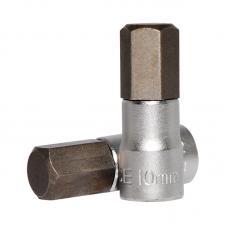 """1/4"""" Головка-бита шестигранная (HEX) 10 мм, L=32 мм (FORCE 3243210)"""