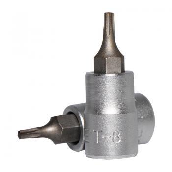 """1/4"""" Головка-бита Torx Т8, L=32 мм (FORCE 3263208)"""