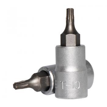"""1/4"""" Головка-бита Torx Т10, L=32 мм (FORCE 3263210)"""