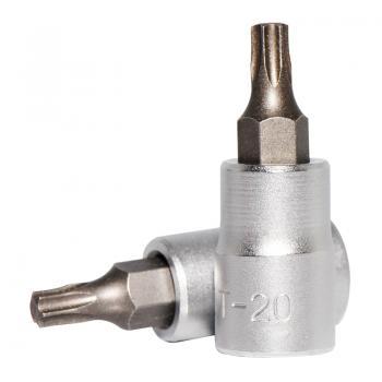 """1/4"""" Головка-бита Torx Т20, L=32 мм (FORCE 3263220)"""