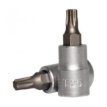 """1/4"""" Головка-бита Torx Т25, L=32 мм (FORCE 3263225)"""