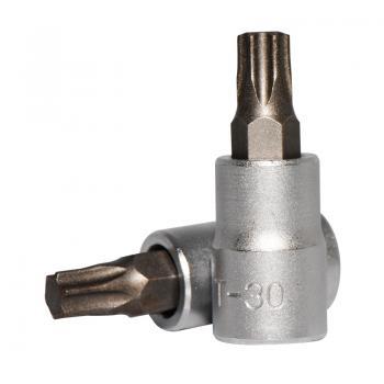 """1/4"""" Головка-бита Torx Т30, L=32 мм (FORCE 3263230)"""