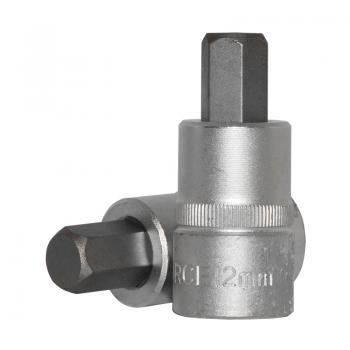 """1/2"""" Головка-бита шестигранная (HEX) 12 мм, L=55 мм (FORCE 34405512)"""