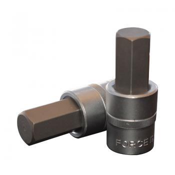 """1/2"""" Головка-бита шестигранная (HEX) 19 мм, L=70 мм (FORCE 34407019)"""