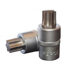 """1/2"""" Головка-бита Torx Т60, L=55 мм (FORCE 34605560)"""