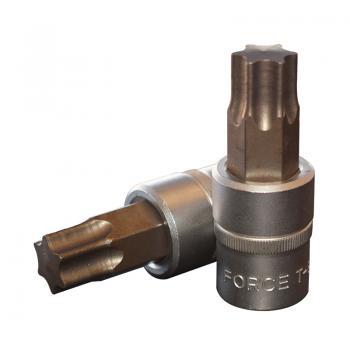 """1/2"""" Головка-бита Torx Т80, L=70 мм (FORCE 34607080)"""