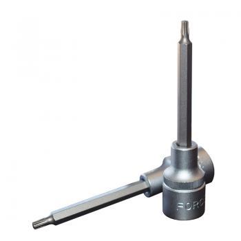 """1/2"""" Головка-бита Torx Т20, L=100 мм (FORCE 34610020)"""