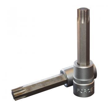 """1/2"""" Головка-бита Torx Т55, L=100 мм (FORCE 34610055)"""