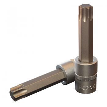 """1/2"""" Головка-бита Torx Т70, L=100 мм (FORCE 34610070)"""