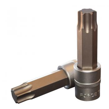 """1/2"""" Головка-бита Torx Т80, L=100 мм (FORCE 34610080)"""
