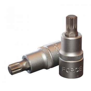 """1/2"""" Головка-бита Spline М10, L=55 мм (FORCE 34805510)"""