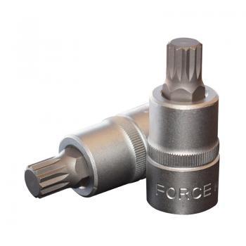 """1/2"""" Головка-бита Spline М12, L=55 мм (FORCE 34805512)"""