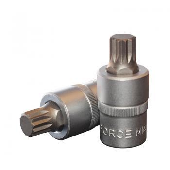 """1/2"""" Головка-бита Spline М14, L=55 мм (FORCE 34805514)"""
