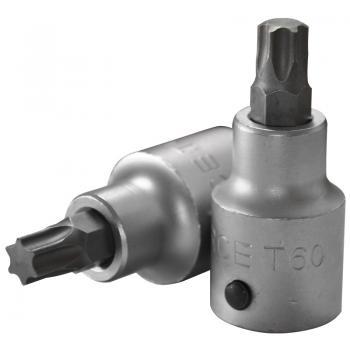 """3/4"""" Головка-бита Torx Т60, L=80 мм (FORCE 36608060)"""