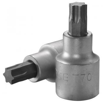 """3/4"""" Головка-бита Torx Т70, L=80 мм (FORCE 36608070)"""