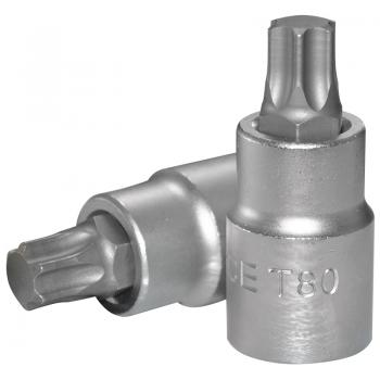 """3/4"""" Головка-бита Torx Т80, L=80 мм (FORCE 36608080)"""