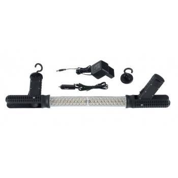 Диодная аккумуляторная лампа (2 крюка, 2 магнита) (FORCE 68606)