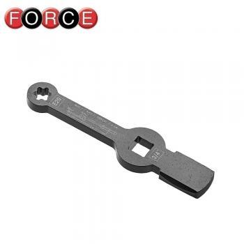 Ключ накидной ударный E24 под вороток (FORCE 793A624)