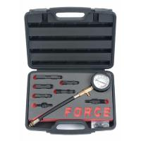 Компрессометр для бензиновых двигателей 9 пр. (FORCE 909G1)