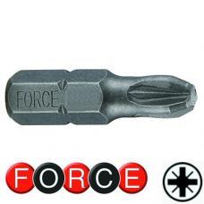 """5/16"""" (8 мм) Бита крестовая РZ.1, L=30 мм (FORCE 152301)"""