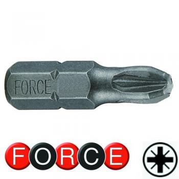 """1/4"""" Бита крестовая PZ.3, L=30 мм (FORCE 122303)"""