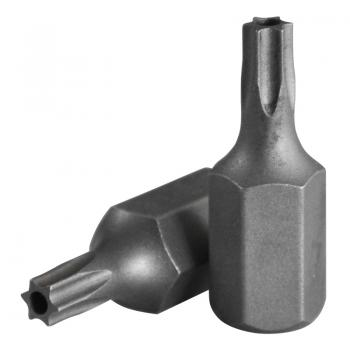 """5/16"""" (8 мм) Бита Torx с отверстием Т10Н, L=30 мм (FORCE 1573010)"""