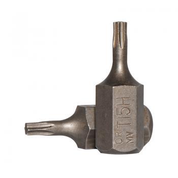 10 мм Бита Torx с отверстием T15H, L=30 мм (FORCE 1773015)