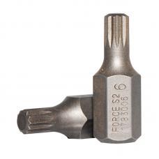 10 мм Бита Spline M6, L=30 мм (FORCE 1783006)