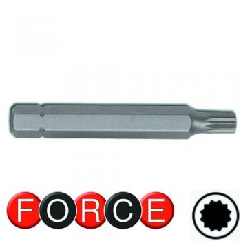 10 мм Бита Spline M16, L=75 мм (FORCE 1787516)