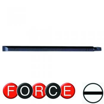 """1/4"""" Бита шлицевая (SL) двухсторонняя 5.5x7, L=165 мм (FORCE 123D05507)"""
