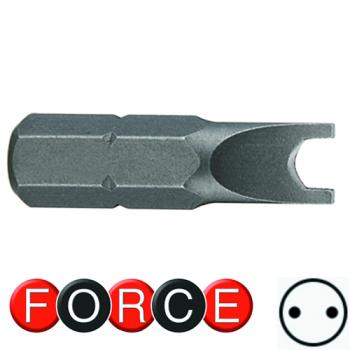 "1/4"" Бита Spanner (вилка) №4, L=25 мм (FORCE 123S2504)"