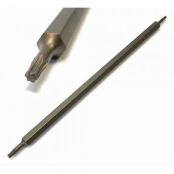 """1/4"""" Бита Torx двухсторонняя T30xT40, L=165 мм (FORCE 126D3040)"""