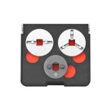 Набор для ремонта тормозных цилиндров с оправками 3 пр. (FORCE 65821)