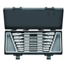 Набор ключей торцевых с шарниром 7 пр. (6-19 мм) (FORCE 5074)