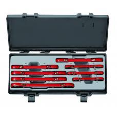 Набор ключей трещоточных накидных 8 пр. (6-22 мм) (FORCE 50810)