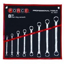 Набор ключей накидных 8 пр. (6-22 мм) (FORCE 50821)