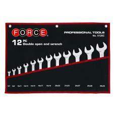 Набор ключей рожковых 12 пр. (6-32 мм) (FORCE 5128P)