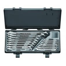 Набор ключей комбинированных 16 пр. (6-24 мм) в кейсе (FORCE 5161)